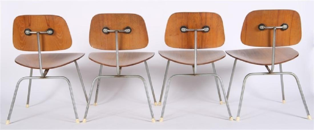 Eames for Herman Miller, Set of Four DCM Chairs - 4