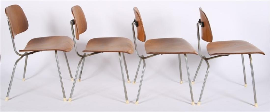Eames for Herman Miller, Set of Four DCM Chairs - 6