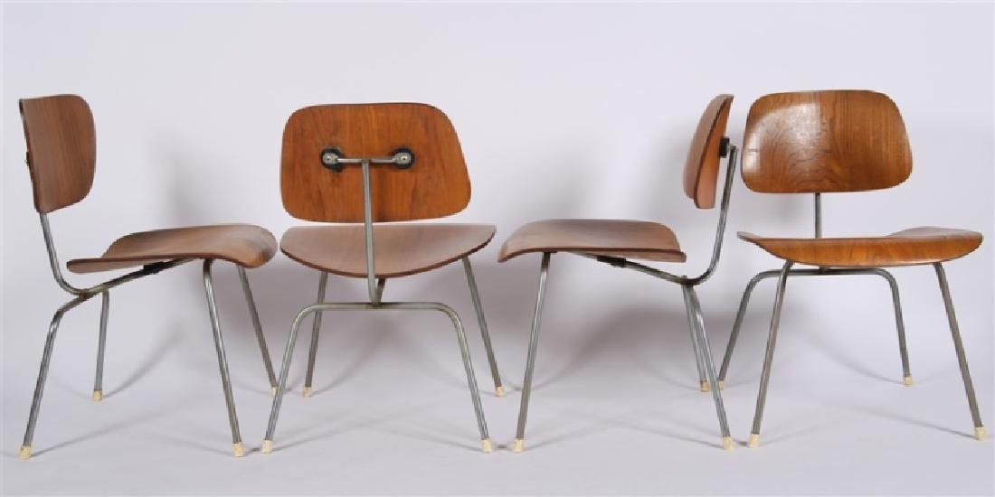 Eames for Herman Miller, Lot of Four DCM Chairs - 2