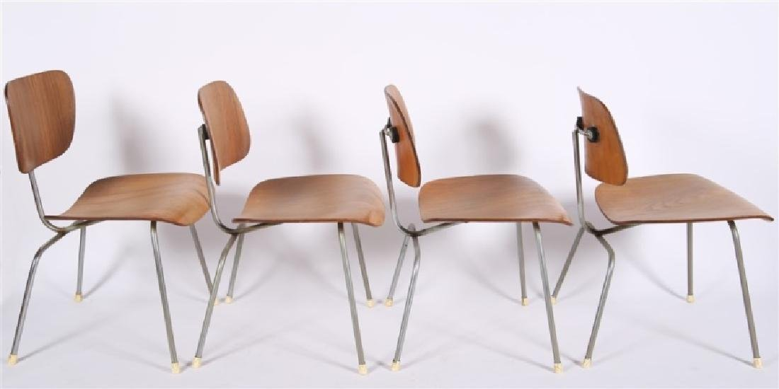 Eames for Herman Miller, Lot of Four DCM Chairs - 5