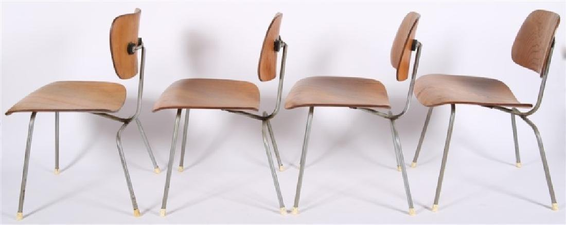 Eames for Herman Miller, Lot of Four DCM Chairs - 7