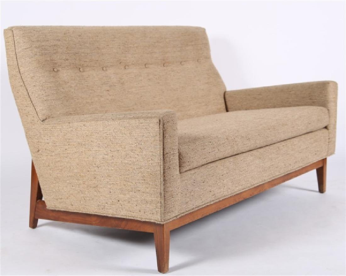 Style of Edward Wormley, Upholstered Settee