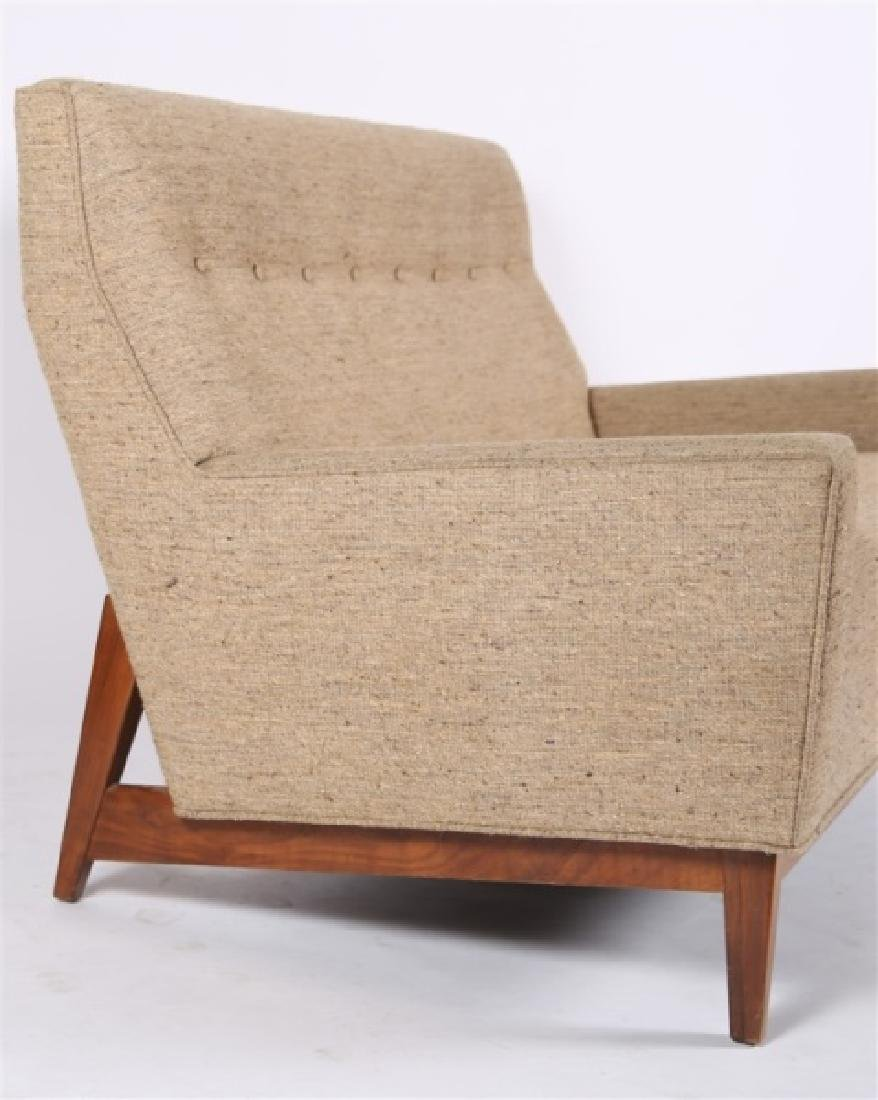 Style of Edward Wormley, Upholstered Settee - 3