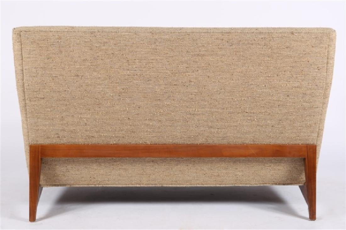 Style of Edward Wormley, Upholstered Settee - 4