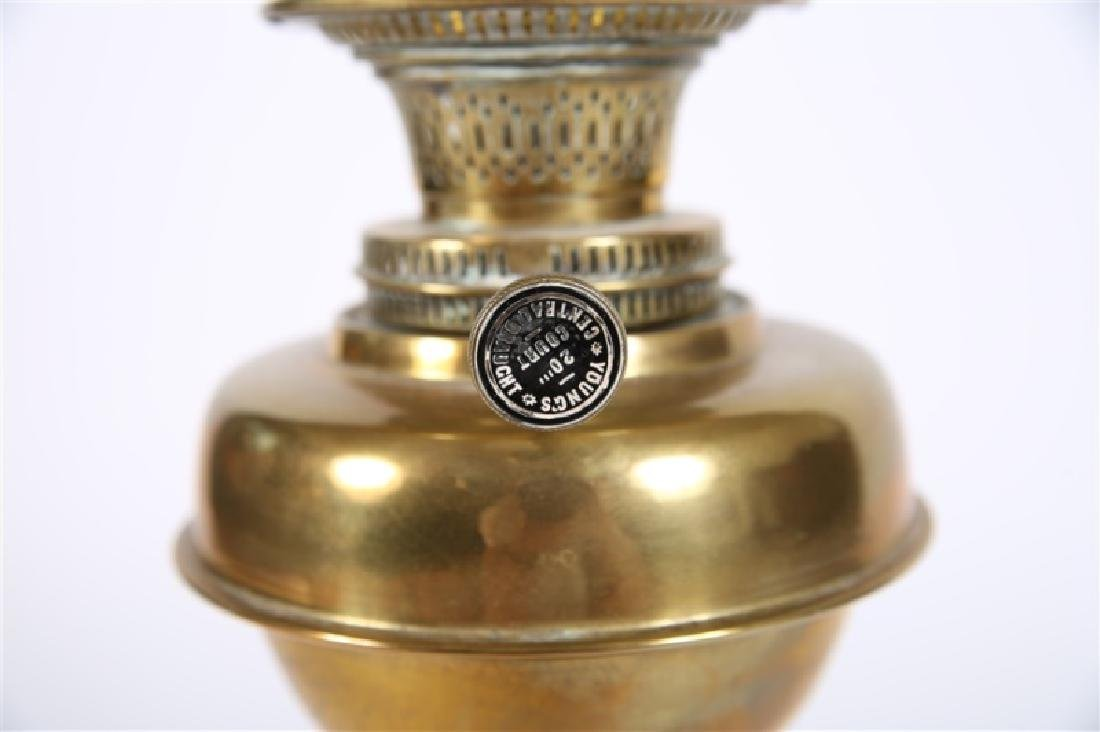 Young's Central Draught Victorian Oil Lamp - 3
