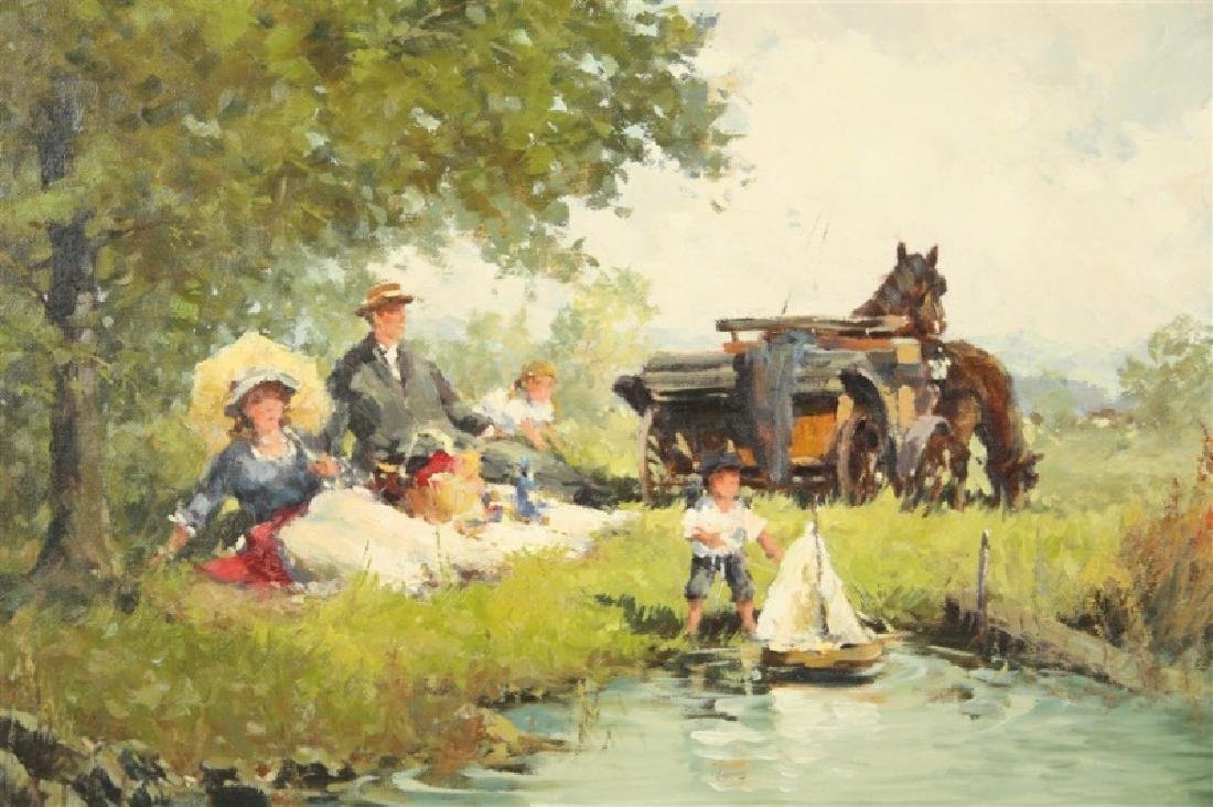 """Alexander Follak, """"Picnic at the Lake"""" - 2"""