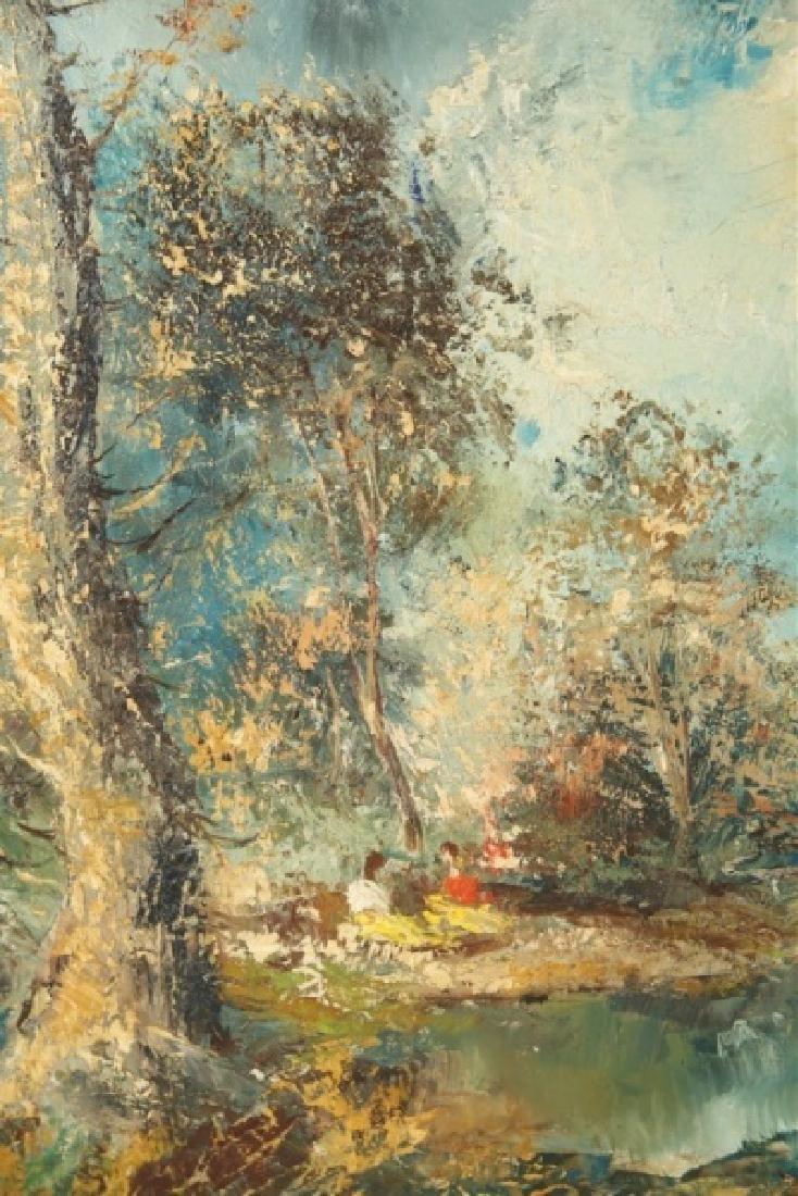 """Americo Makk (Hungarian), """"Woodland Landscape.."""" - 3"""