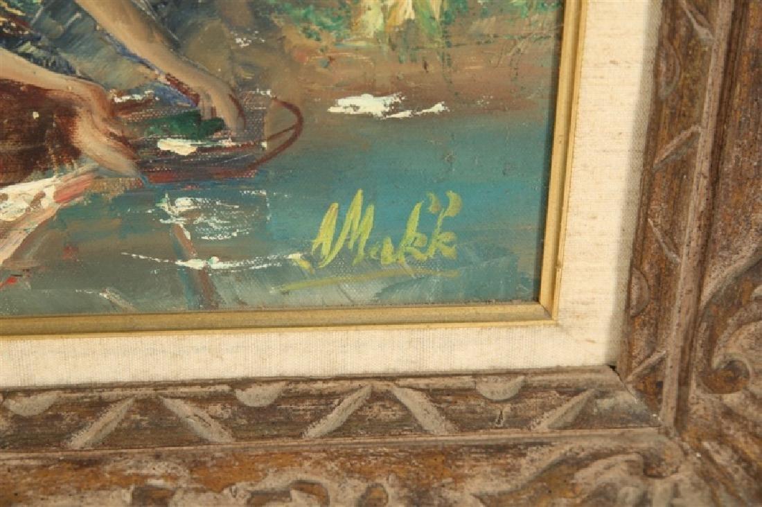 """Americo Makk (Hungarian), """"Woodland Landscape.."""" - 4"""
