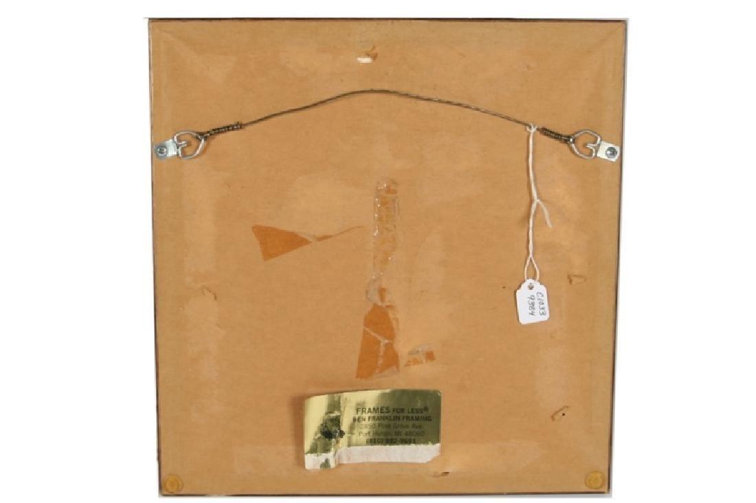 """Margaret Simpson, """"On Modesty"""" 1801 Sampler - 2"""