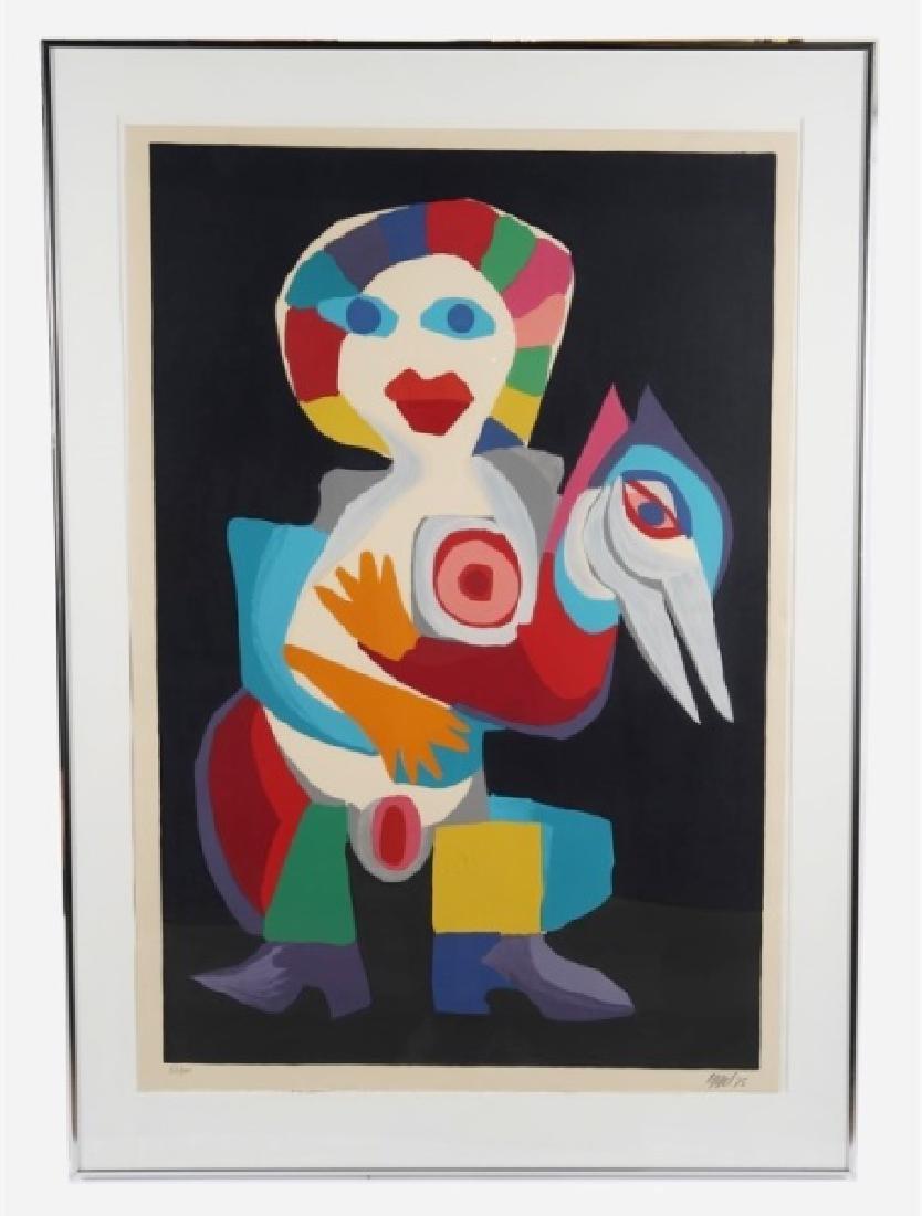 "Christiaan Karel Appel (Dutch), ""Woman and Bird"""