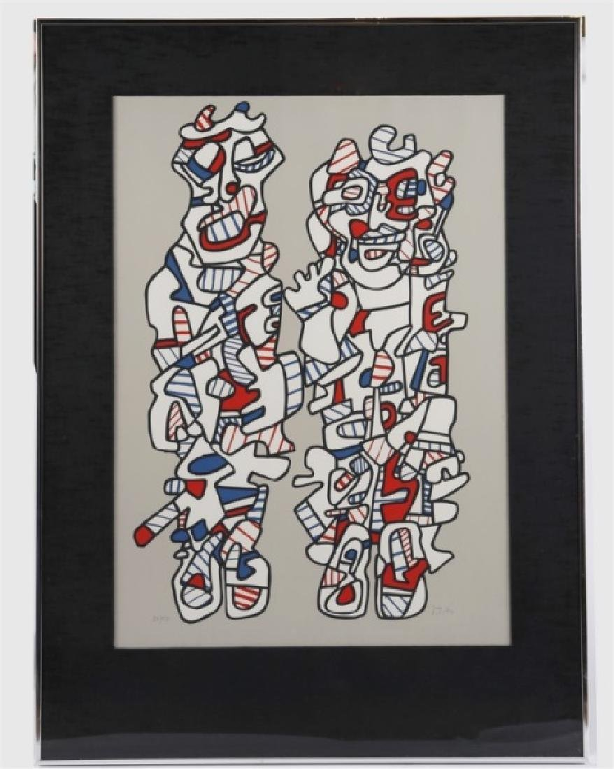 "Jean Dubuffet (French), ""Delegation"""
