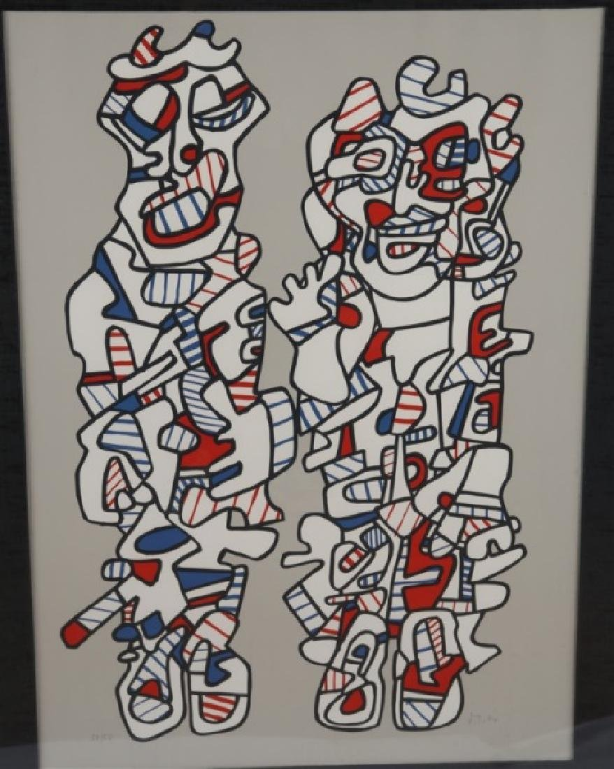 "Jean Dubuffet (French), ""Delegation"" - 2"
