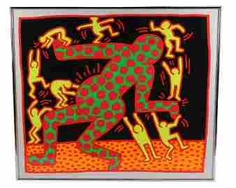 "Keith Haring (American), ""Fertility Series"" Print"