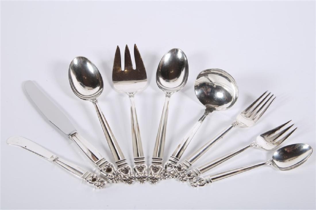 International Silver, Royal Danish Silverware Set - 2