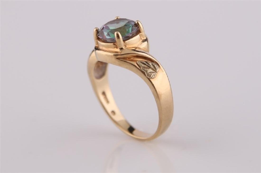 South Dakota Gold Co., 10kt Yellow Gold Ring