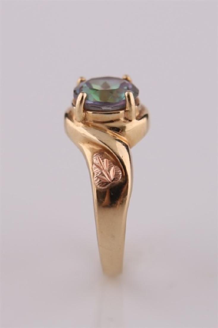 South Dakota Gold Co., 10kt Yellow Gold Ring - 4