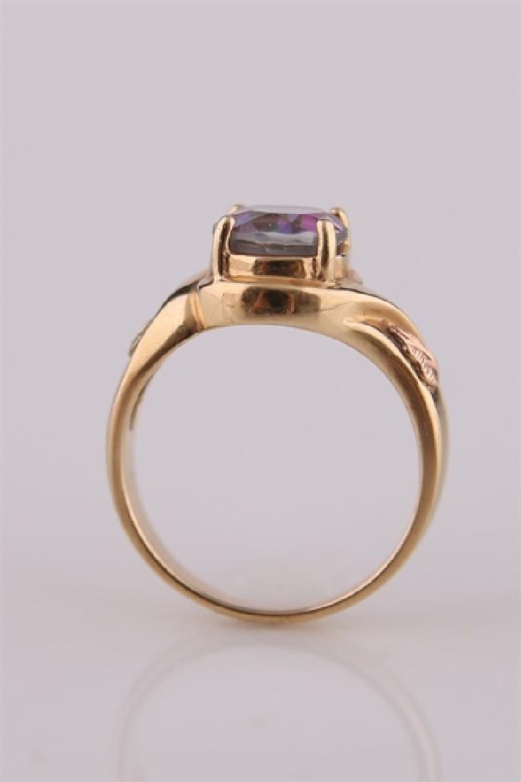 South Dakota Gold Co., 10kt Yellow Gold Ring - 5