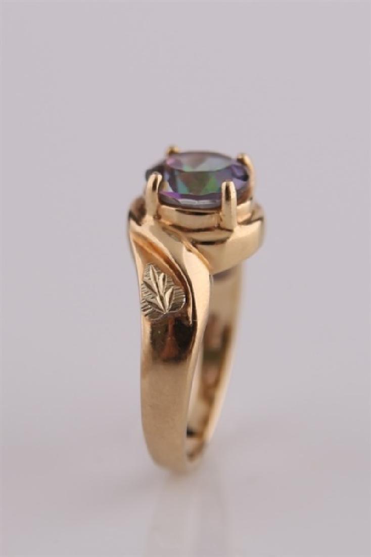 South Dakota Gold Co., 10kt Yellow Gold Ring - 6