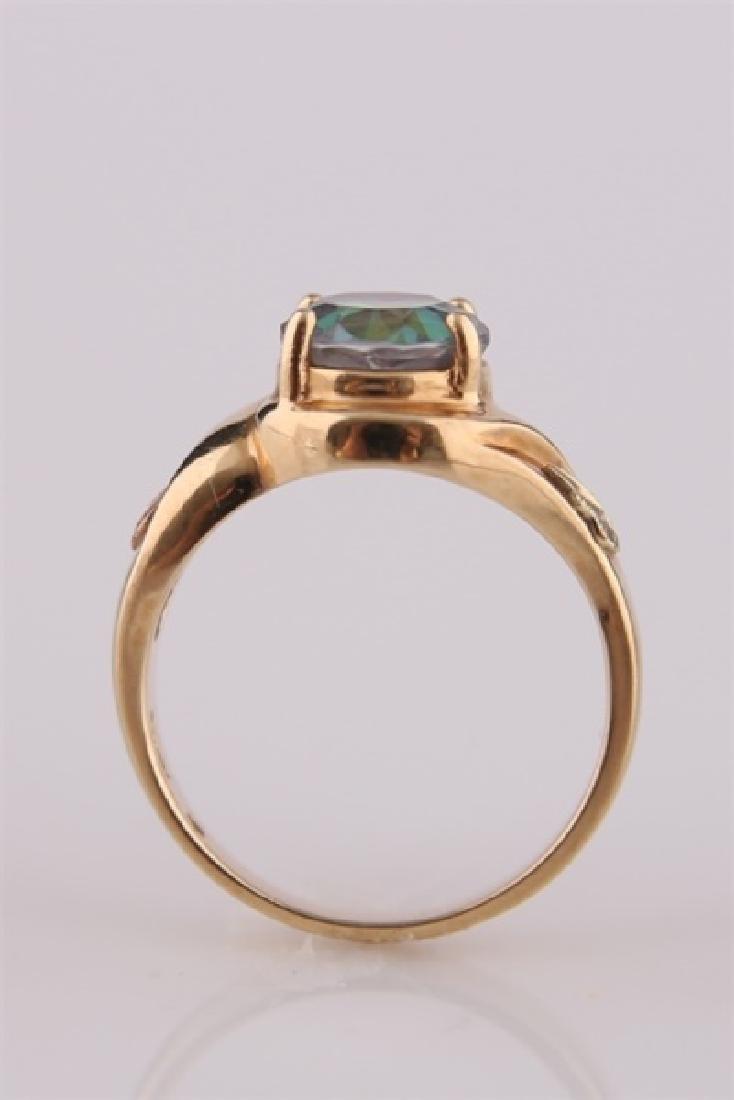 South Dakota Gold Co., 10kt Yellow Gold Ring - 7