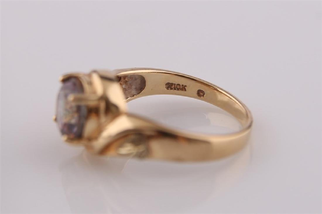 South Dakota Gold Co., 10kt Yellow Gold Ring - 8