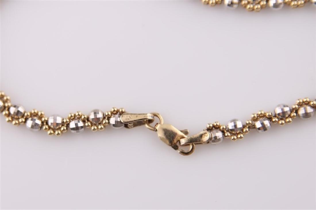 14kt Gold Disco Ball Bracelet - 3