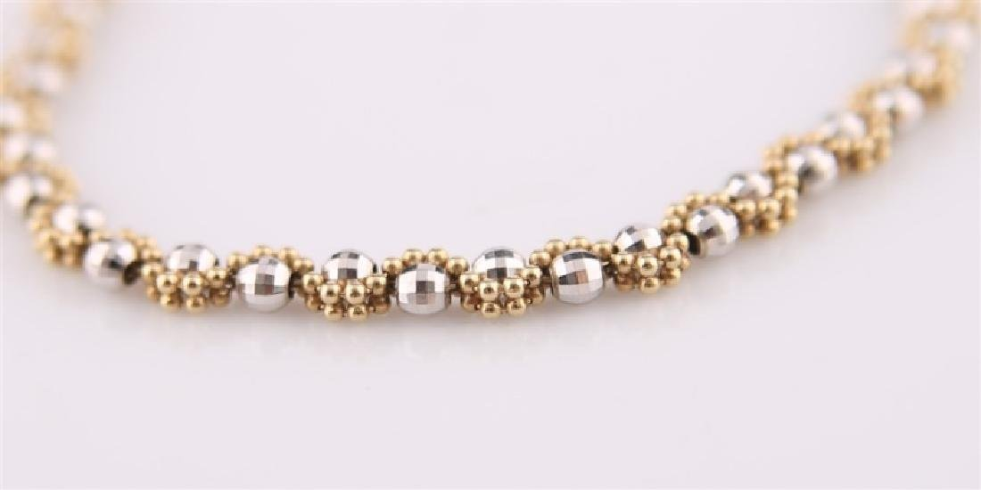 14kt Gold Disco Ball Bracelet - 4