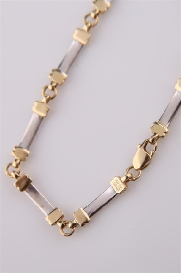 14kt Yellow and White Gold Bracelet - 2