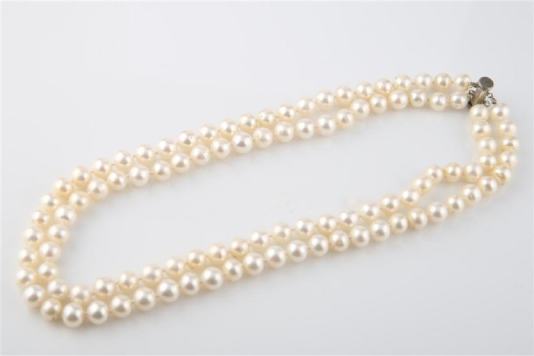 Pearl Two-Strand Necklace