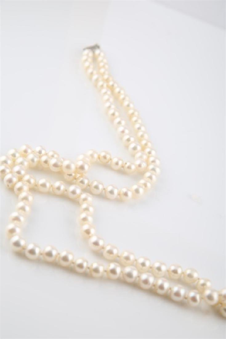 Pearl Two-Strand Necklace - 2