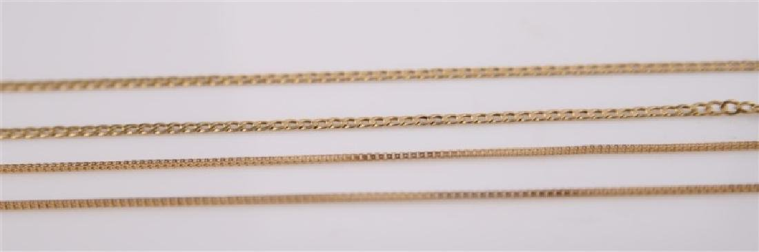 Lot of Two Gold Necklaces - 4