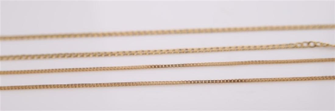 Lot of Two Gold Necklaces - 5