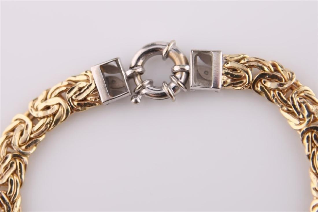 14kt Yellow Gold Chain Bracelet - 3