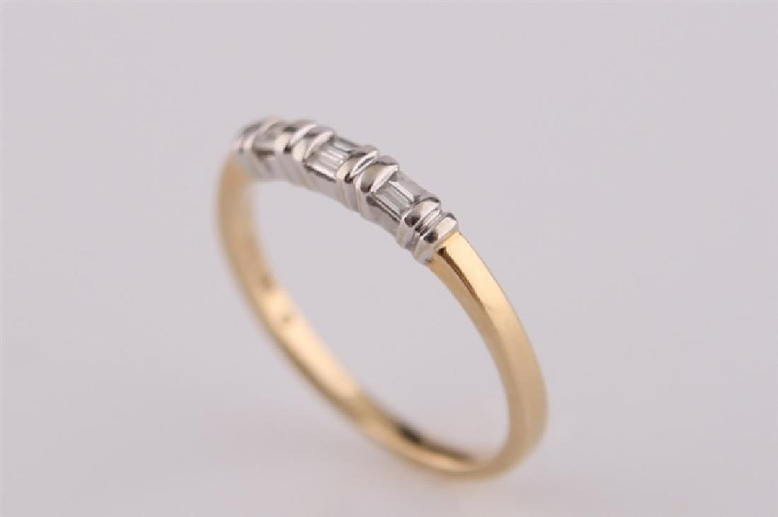 18kt Yellow Gold Ring with Diamonds - 3