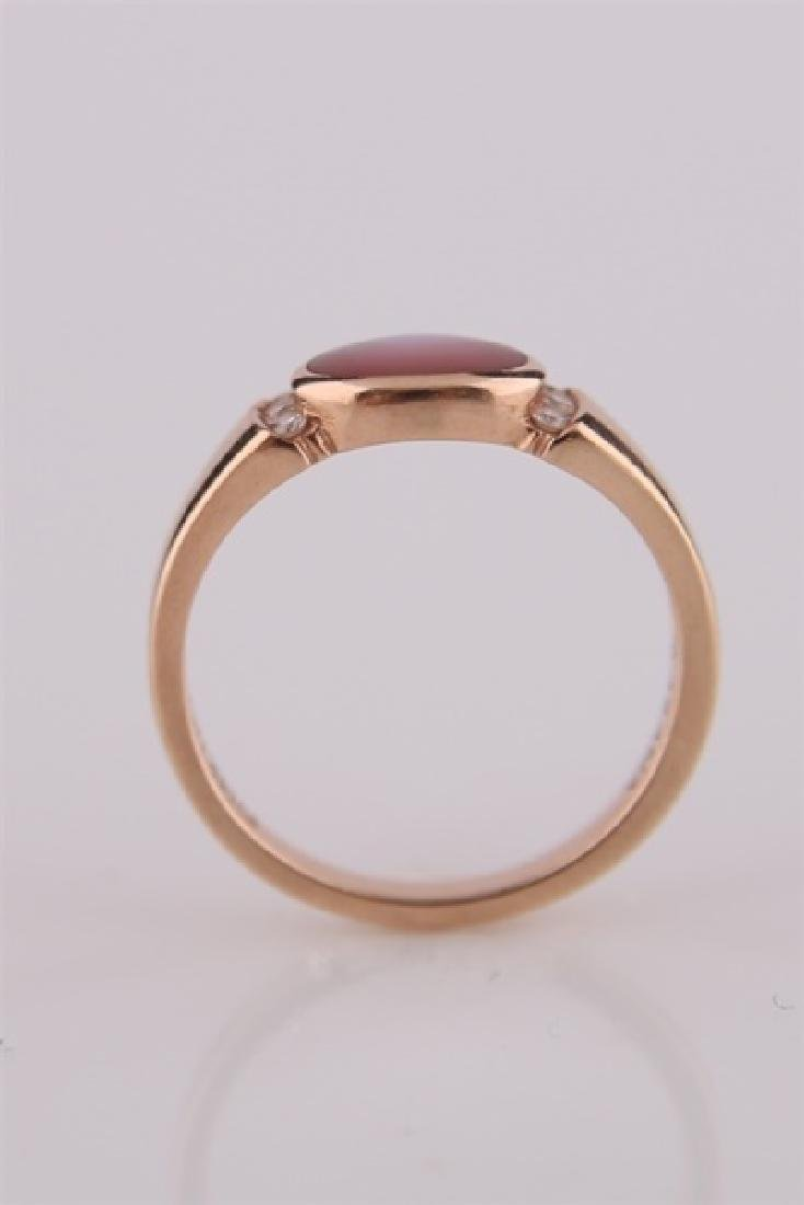 Kabana, 14kt Rose Gold Ring with Mother of Pearl - 2