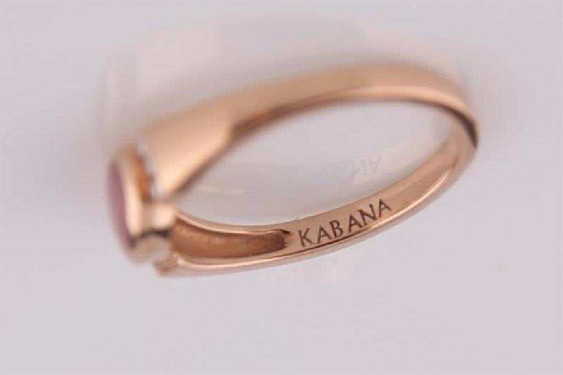 Kabana, 14kt Rose Gold Ring with Mother of Pearl - 5