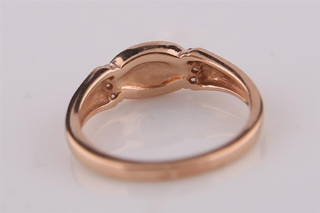 Kabana, 14kt Rose Gold Ring with Mother of Pearl - 6