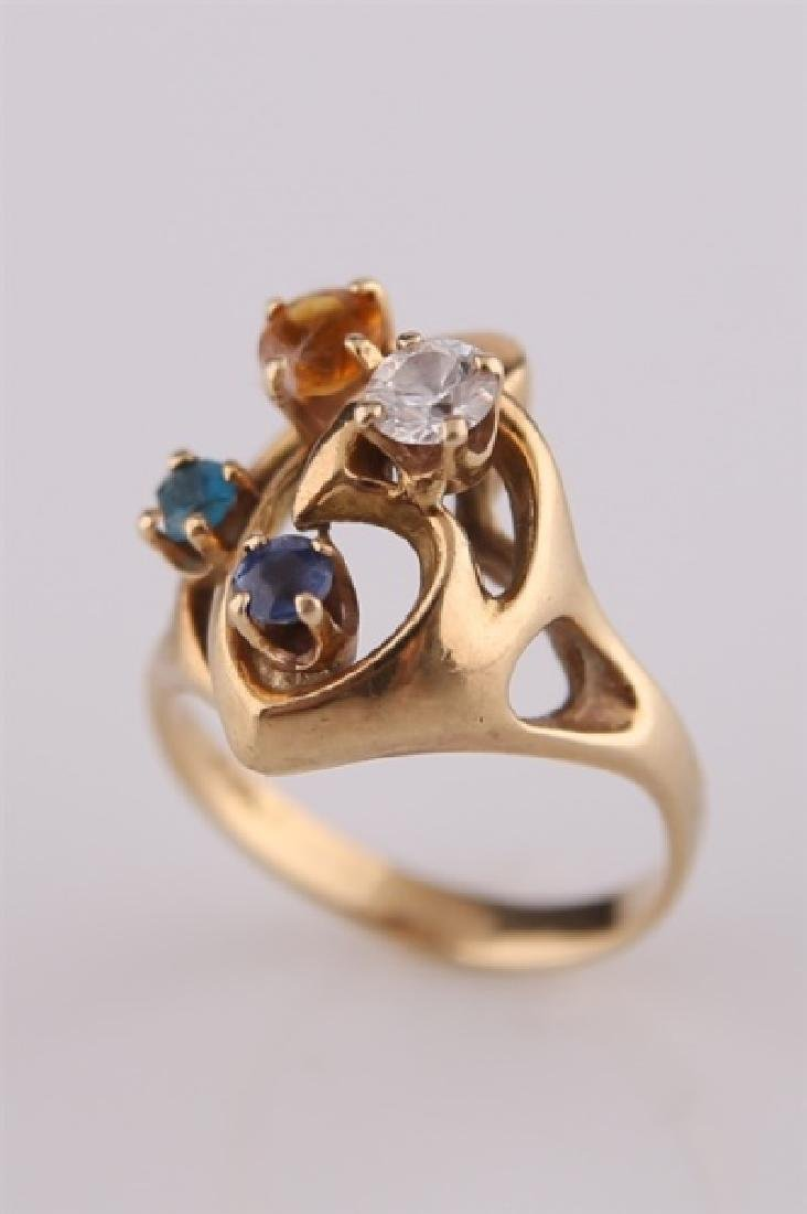 14kt Yellow Gold Mothers Ring
