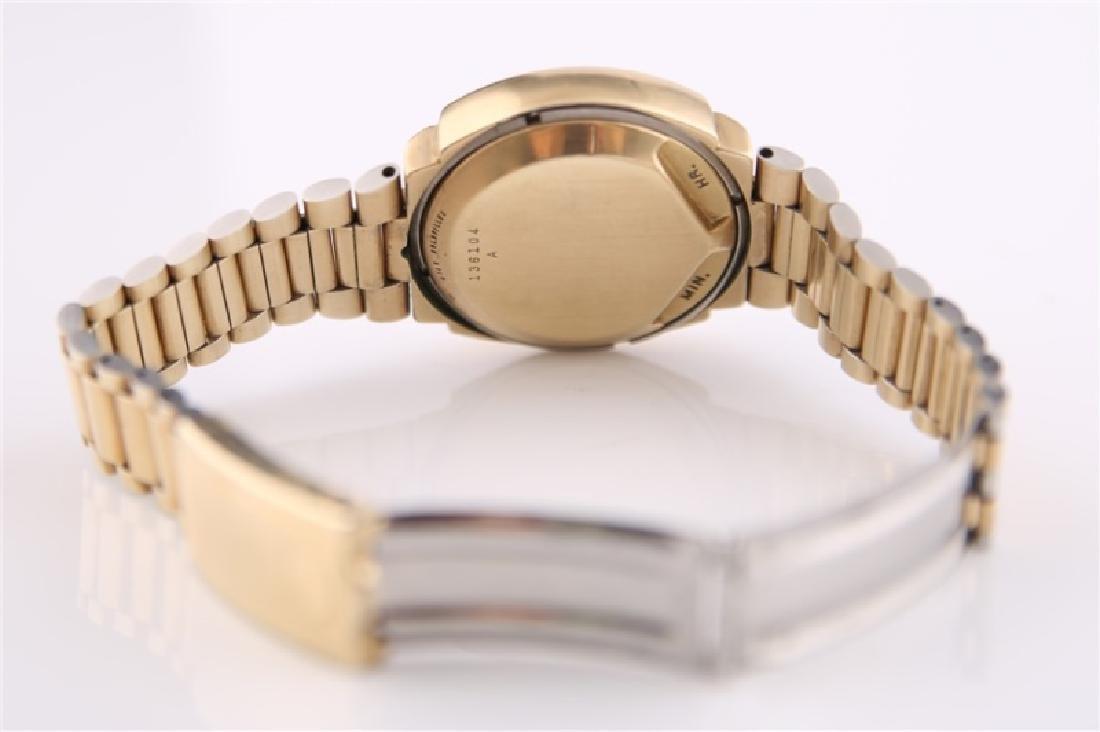 Pulsar P2 LED 14kt Gold-Filled Wrist Watch - 4
