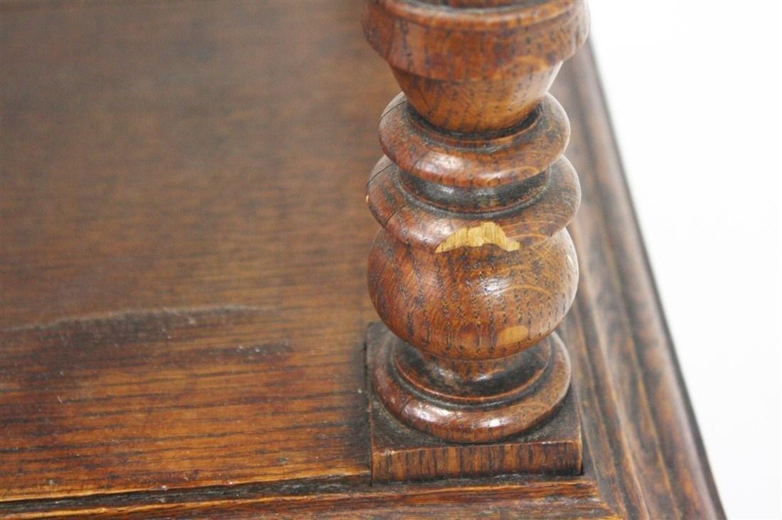 Pair of Henri II Style Marble Top Nightstands - 6