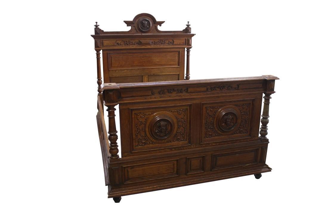 Henri II Style Bed