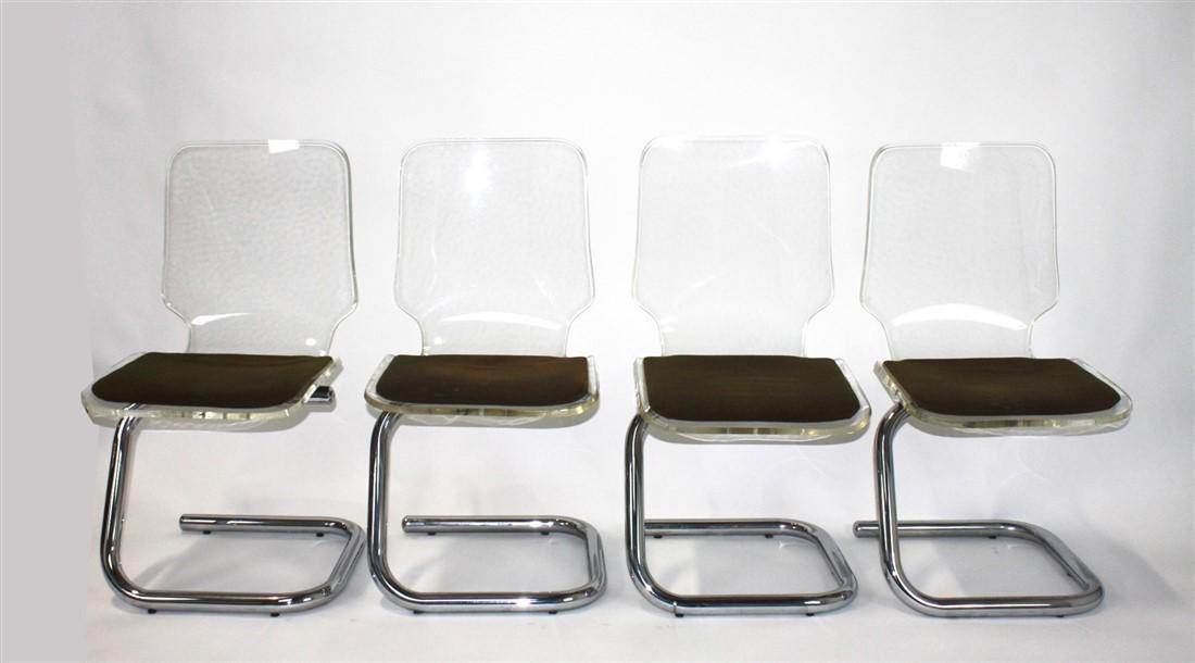 Luigi Bardini for Hill Mfg. Co., Dining Chairs