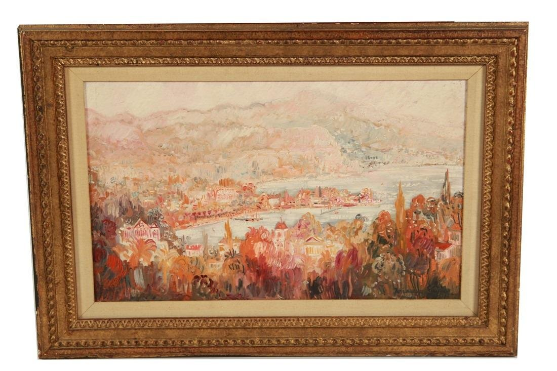 Johannes Schiefer, Oil on Board Landscape