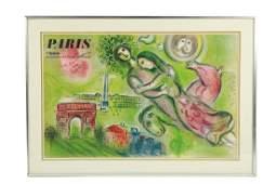 "Marc Chagall, ""l'Opera"" Lithograph - Signed"