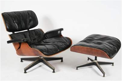 Charles and Ray Eames, Lounge Chair and Ottoman
