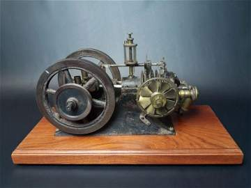 Miniature Gas Hit and Miss Engine