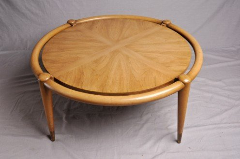 20: Widdicomb Circular Coffee Table