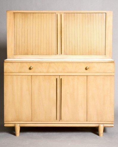 21: Widdicomb Cabinet with Retracting Shelf Case