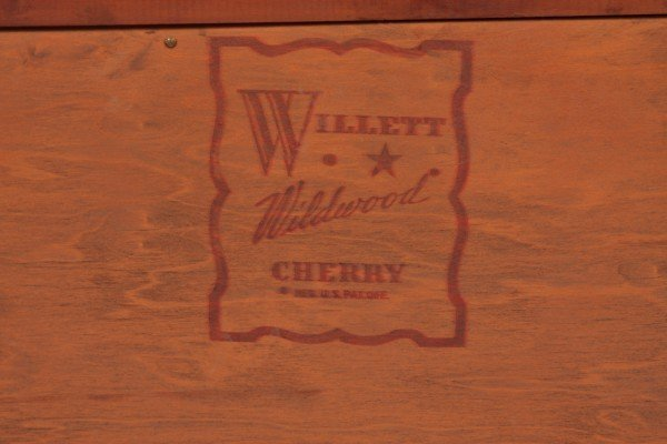 13: Willett Cherry Dining Room Set, Dining Table with B - 6