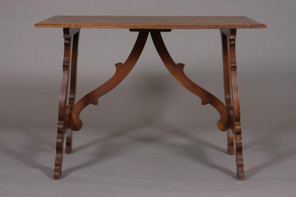 17: Baroque Style Walnut Table, 20th Century