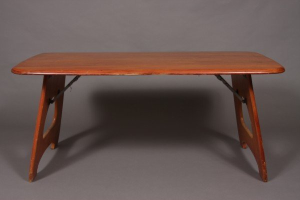 13: Child Craft Maple Table, Circa 1960, Height: 21""